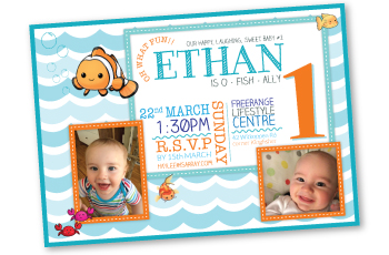 Child Birthday Invitation