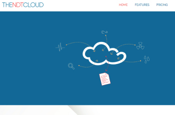 The NDT Cloud website